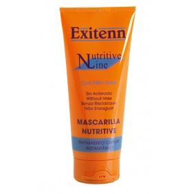 MASCARILLA NUTRITIVA SIN ACLARADO + FP  200ml EXITENN