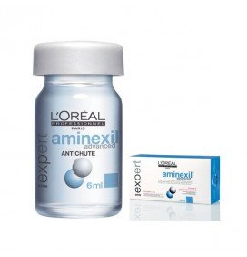 AMPOLLAS AMINEXIL ADVANCED 10X6ml. L'OREAL PROFESSIONNEL