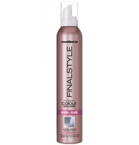 ESPUMA FINALSTYLE COLOR PLATA 320ml MONTIBELLO