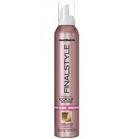 ESPUMA FINALSTYLE COLOR RUBIO NATURAL 320ml MONTIBELLO