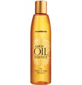CHAMPÚ GOLD OIL 250ml. MONTIBELLO