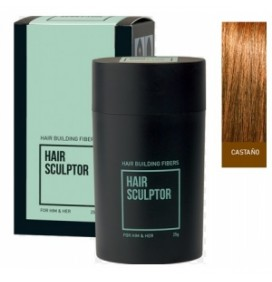 "FIBRAS PARA EL CABELLO HAIR SCULPTOR ""BROWN"" 25gr."