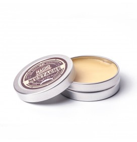MACHO BEARD NATURAL LIGHT WAX FOR MOUSTACHES 15ml.