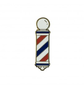 PIN BARBERPOLE B&G