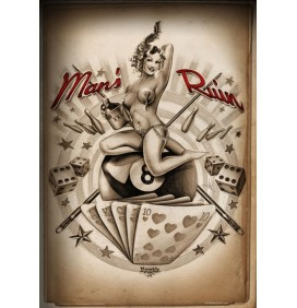 POSTER MARILYN - SOME LIKE IT INKED