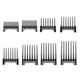 SET OF 8 ATTACHMENT COMBS FOR OSTER CLIPPERS