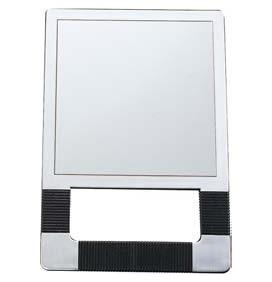 Espejos de mano tello profesional for Espejo rectangular plateado