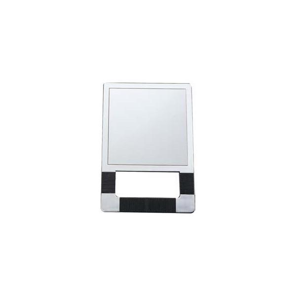 Espejo rectangular con asas plateado r 287 eurostil for Espejo rectangular plateado