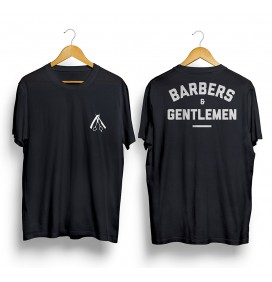 CAMISETA BARBER AND GENTLEMEN N1 TALLA L BLANCA