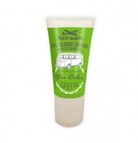 HAIRGUM TEMPORARY HAIR DYE - FIX COLOR GREEN 30ML