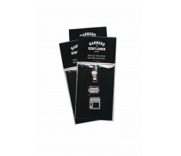 PACK DE 3 PINS BARBERSHOP COLLECTION LIMITED B&G