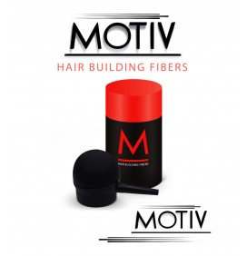MOTIV PRO BLACK HAIR FIBER AND PUMP COMBO
