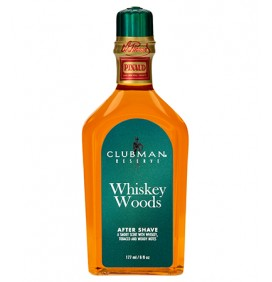 LOCIÓN AFTER SHAVE WHISKEY WOODS CLUBMAN
