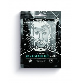 MASCARILLA RENOVADOR SKIN RENEWING FOIL MASK BARBER PRO