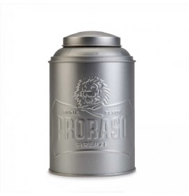 PRORASO METAL CONTAINER FOR TALCUM