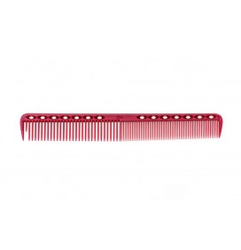 "YS PARK 339 7"" FINE CUTTING COMB - RED"