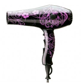 ALBI 2000W WHITE FLORAL HAIR DRYER