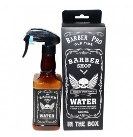 PULVERIZADOR BARBERO BOTELLA WHISKEY ASUER