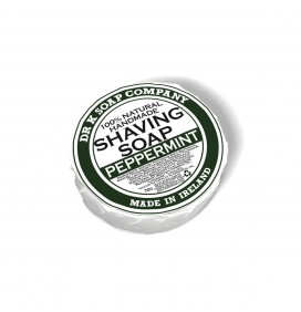 DR. K SOAP COMPANY PEPPERMINT SHAVING SOAP