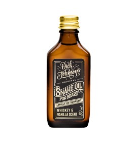 BEARD OIL SNAKE OIL DICK JOHNSON'S
