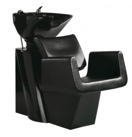 CURVE HEAD WASH WITH BUILT-IN CHAIR