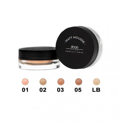 Stage Line Matt Mousse Make Up