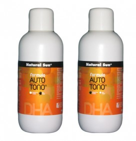 LÍQUIDO BRONCEADOR DHA NATURAL SUN 1000ml