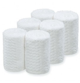 BARBURYS WHITE FACE TOWELS