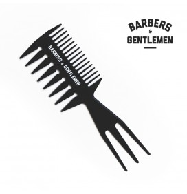 PEINE TRIPLE WAY TEXTURIZADOR BARBERS & GENTLEMEN
