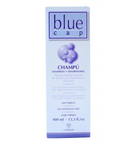CHAMPU TRATAMIENTO ANTICASPA BLUE CAP 400ml