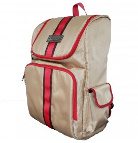 VINCENT BEIGE BARBER BACKPACK