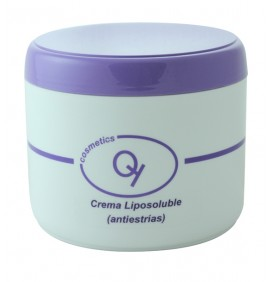 CREMA LIPOSOLUBLE ANTIESTRÍAS 500ml QUEY