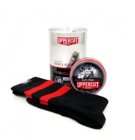KIT CALCETINES Y POMADA DELUXE UPPERCUT