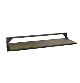 BRIXTON BROWN BARBER WALL SHELF