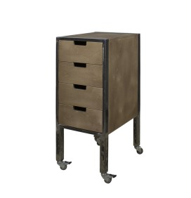 CITY PLUS BARBER BROWN TROLLEY