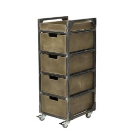 BRIXTON BARBER BROWN TROLLEY