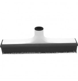 SPECIAL RUBBER BROOM FOR HAIRDRESSING