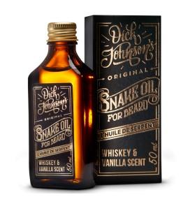 BEARD OIL SNAKE OIL DICK JOHNSON'S