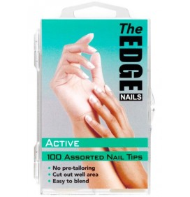 TIPS  ACTIVE    100und THE EDGE NAILS