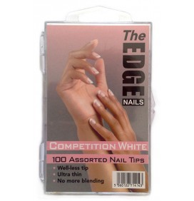TIPS COMPETICION BLANCO FRANCESA 100und THE EDGE NAILS